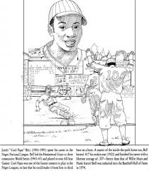 Jackie Robinson Coloring Page Az Pages Within In - glum.me