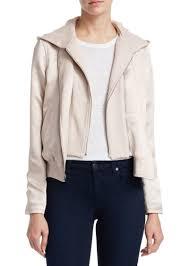 a l c edison zip front jacket