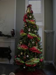 baby nursery glamorous how to decorate the perfect tree using wide ribbon garland ro