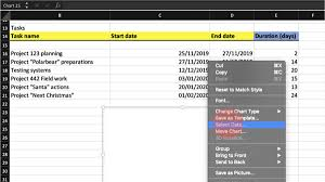 How To Make A Gantt Chart In Excel And In Ganttic Ganttic