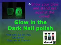 glow in the dark nail polish powerpoint
