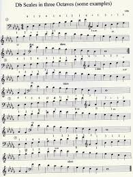 Double Bass Finger Chart Pdf Bow And Fingerings Much More Also For Jazz Players Vito