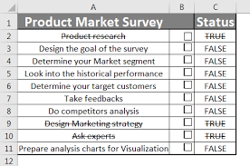 check list example checklist in excel how to create checklist in excel