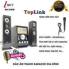 Dàn Âm Thanh Giải Trí Đỉnh Cao - Loa Vi Tính Hát Karaoke Âm Thanh Đỉnh Cao  Có Kết Nối Bluetooth Isky - SK328 giá cạnh tranh