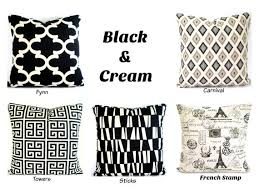 black and cream pillows. Delighful Black Image 0 Inside Black And Cream Pillows K