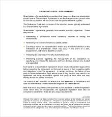 Share Redemption Agreement Canada 13 Shareholder Agreement Templates