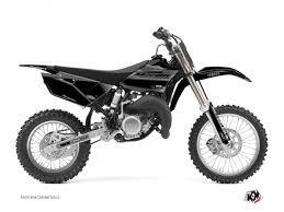 yamaha 85. yamaha 85 yz dirt bike black matte graphic kit e