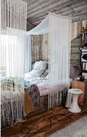 Incredible Draping Curtains Over Bed Inspiration With Best 25