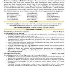 Resume Examples Military To Civilian Image0Jpg Army Excellent ...