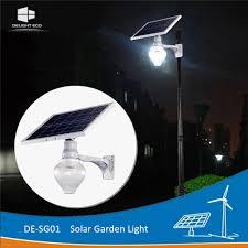 Delight Solar Light Price Hot Item Delight 4m Home Landscape Solar Led Garden Lamp
