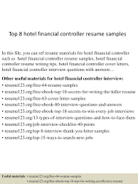 Top8hotelfinancialcontrollerresumesamples 150517015030 Lva1 App6891 Thumbnail 4 Jpg Cb 1431827473