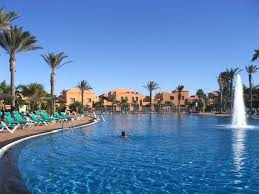 oasis papagayo in holiday resort swimming pool tennis court corralejo condo rental
