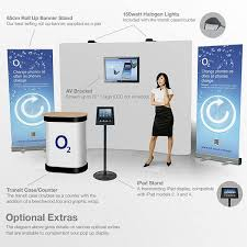 Exhibition Display Stands Uk New Pop Up Tower Portable Freestanding Exhibition Display Stand