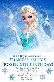 Snowflake Birthday Invitations Frozen Snowflake Birthday Invitations Free Printable