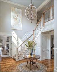 two story foyer lighting 2 chandelier height