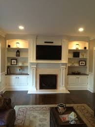 Fireplace Built Ins Fireplace Wall Love These Gorgeous Built Ins Maybe Upgrade To