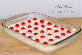 No Bake Dessert Italian Cake