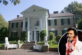 Image result for at his Graceland estate in Memphis, Tennessee.