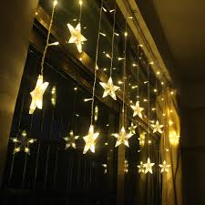 Fairy Lights Taobao Us 8 39 31 Off 2m Star Fairy Lights Christmas Star String Lights Garland Led Curtain Wedding Home Party Garden Birthday Decoration Lighting In Led