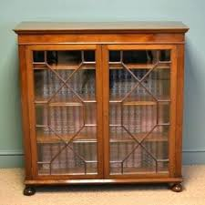 antique bookcase with sliding glass doors vintage bookcases vintage bookcases set of 4 1 vintage bookcase