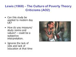 culture of poverty oscar lewis theories of poverty the culture of  culture of poverty thesis by oscar lewis