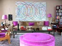 purple and brown living room home decor ideas contemporary design grey