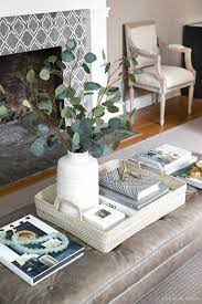 And it gives the things you will put on your table some boundaries. Coffee Table Decor Ideas Inspiration Driven By Decor Coffe Table Decor Coffee Table Decorating Coffee Tables