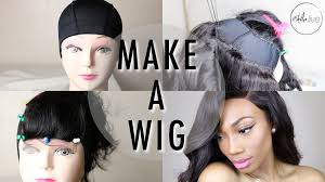 How To Make A Hair Style how to make a wig step by step tutorial sewing a lace closure 2202 by wearticles.com