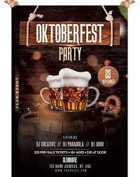 Event Flyers Free Oktoberfest Free Photoshop Psd Flyer Template Psdflyer Co