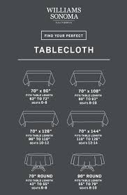 table cloth sizes table size chart tablecloths