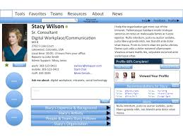 Employee Profile Sample Not Using The Sharepoint Mysite Profile Heres What Youre Missing