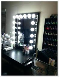 black makeup desk with lights black makeup vanity photo 4 of 8 vanities black makeup vanity