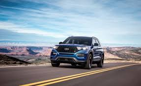 2020 Ford Explorer Color Chart 2020 Ford Explorer St Driving The 400 Hp Three Row Suv