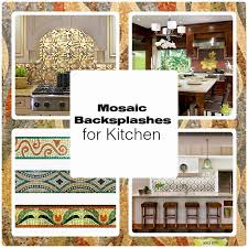 Kitchen With Glass Tile Backsplash Delectable Mosaic Glass Tile Backsplash For Modern Kitchens
