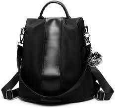 Designer Travel Bags Ladies Women Backpack Purse Waterproof Nylon Schoolbags Covertible Designer Ladies Lightweight Fashion Travel Bag