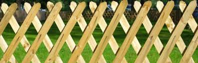 durable wooden fencing