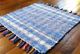 rag rugs for white rag rug white rag rug image of rag rug periwinkle cornflower