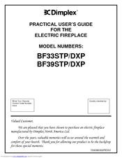 dimplex bf33dxp manuals dimplex bf33dxp practical user s manual
