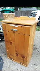wooden trash can wooden outdoor trash can cabinet