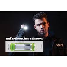 Đèn pin tích điện đa năng Sunhouse SHE-4200, 12 mắt LED siêu sáng, đèn pin  sạc cầm tay 2 chức năng - Đèn pin Nhãn hàng sunhouse