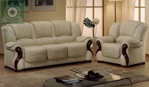 Buy high quality living room furniture european antique leather