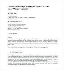 Marketing Proposal Template Get The Simple Marketing Proposal ...