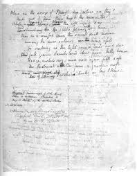 essay is a critical analysis of john keat s poem to sleep using english page 2 of john keats s manuscript for the poem