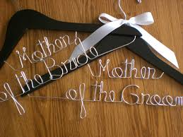 Set Of 2 Wedding Hangers Mother Of The Bride And Mother Of The