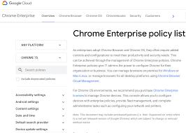 Chrome Enterprise <b>release</b> notes - Google Chrome Enterprise Help
