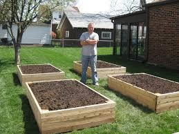 above ground garden bed ideas unique raised garden beds versus row gardening