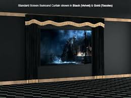 best home theater curtains ideas on rooms home theater basement and theater basement