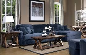 modular bookcase navy blue sofa living room dark velvet couches sectional ideas