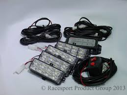 Strobe Light Led Kit Amazon Com Race Sport Rs 281 4led A Led Strobe Light Kit