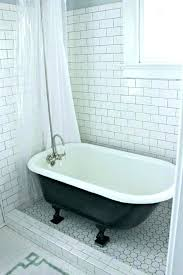 claw foot bath tub image of cast iron tub home depot clawfoot old in old style bathtub renovation
